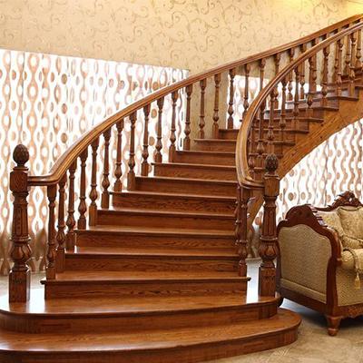室内实木楼梯价格