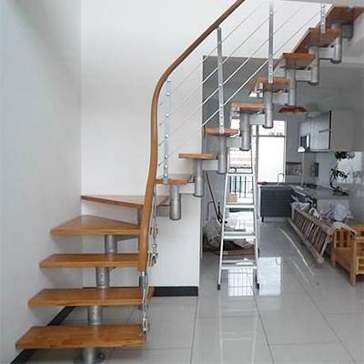 钢木脊索楼梯