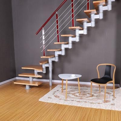 实木脊索楼梯