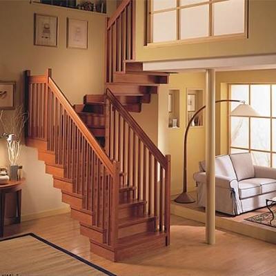 实木别墅楼梯