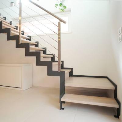 石家庄双梁楼梯