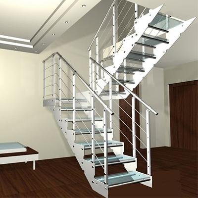 双梁室内楼梯