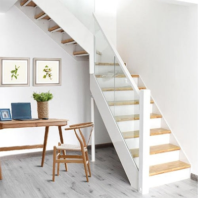 实木双梁楼梯
