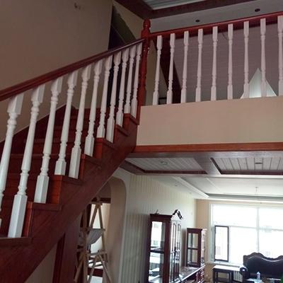 优质实木楼梯