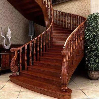 程翔实木楼梯